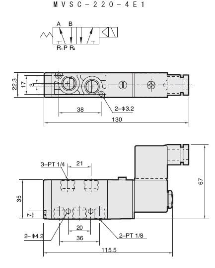 220v液压电磁阀接线图
