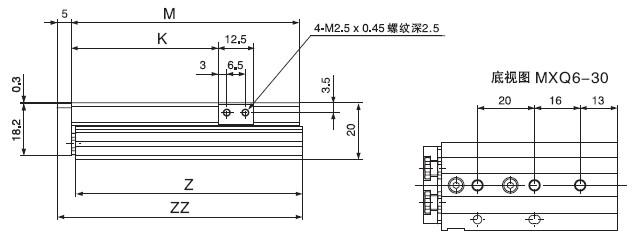 气缸循环电路图