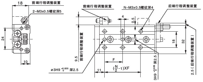 mxs滑台气缸_其它特殊型气缸图片